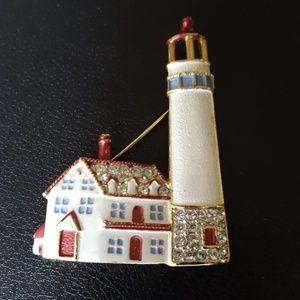 Lighthouse Brooch/Pin